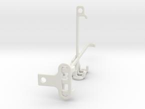 Oppo A54 tripod & stabilizer mount in White Natural Versatile Plastic