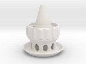 WaspTrap for plastic bottle in White Natural Versatile Plastic