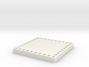 Base for MODULO in White Natural Versatile Plastic