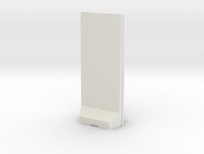 Concrete T-Wall 1/56 in White Natural Versatile Plastic
