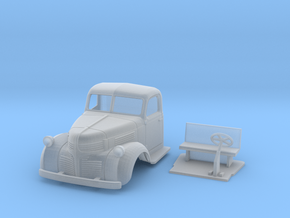 1:56 1940 Dodge Solo Cab in Smooth Fine Detail Plastic