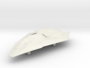 F/A-37 Talon - Wings Swept, Gear Down in White Natural Versatile Plastic