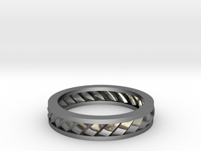 GBW2 Lds Wedding Band in Polished Silver