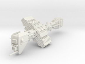 Omega Class Destroyer in White Natural Versatile Plastic