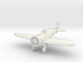 "1/200 Boeing P-26 ""Peashooter"" in White Natural Versatile Plastic"