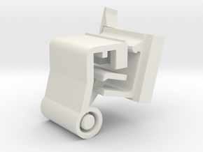 Zeus LEDConnector for DJi Mavic Air 2 &2S ArmMount in White Natural Versatile Plastic