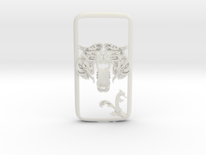 FLYHIGH: Tory Tiger Galaxy S4 Case in White Natural Versatile Plastic