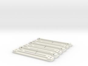 Lichtplatinenhalter Light Boards for BRM BMW 2002 in White Natural Versatile Plastic