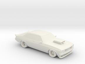 1972 Holden Monaro [HQ] !:160 Scale in White Natural Versatile Plastic