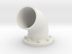 My Bullhorns v1 (Single) in White Natural Versatile Plastic