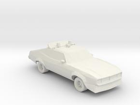 Ford XA Falcon 500 MFP 1:160 scale in White Natural Versatile Plastic