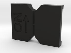 Switch case in Black Natural Versatile Plastic