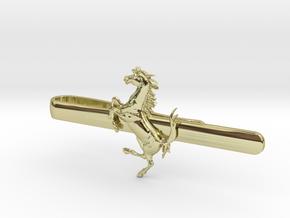 Ferrari tie clip in 18k Gold Plated Brass