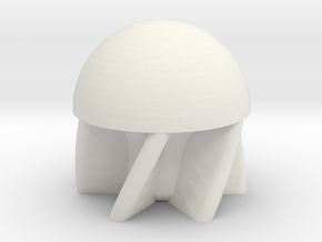 Parabolic First-Strike .50 Caliber Paintball in White Natural Versatile Plastic