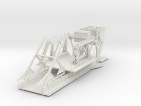 1:144 Pegasus Bridge D-Day 75th Anniversary in White Natural Versatile Plastic