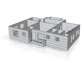 first floor plan_150kkk in White Natural Versatile Plastic