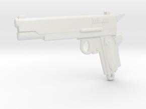 ColtM1911 in White Natural Versatile Plastic