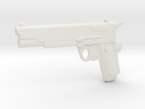 ColtM1911A1 in White Natural Versatile Plastic