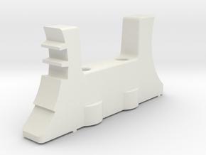 Realistic detents for Thrustmaster TCA Quadrant in White Natural Versatile Plastic