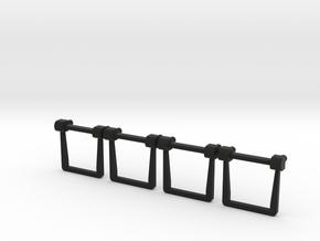 Lionel EMD Replacement Side Frame Spring Hangers in Black Natural Versatile Plastic