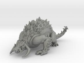 Quillboar Beast 100mm miniature model fantasy rpg in Gray PA12