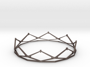 Crown in Polished Bronzed Silver Steel