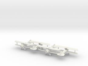 1/144 Albatros D.Va x4 in White Natural Versatile Plastic