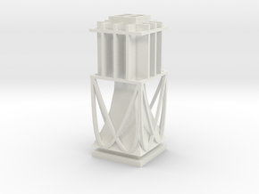 Table Lamp in White Natural Versatile Plastic