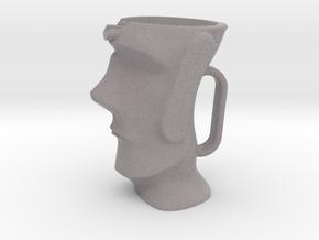 Moai Milk Jug in Natural Full Color Sandstone