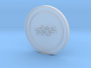 Datsun 510 SSS Steering Wheel Horn Button Badge in Smoothest Fine Detail Plastic