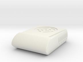 1/14th Semi Truck Sleeper RV Air Conditioner unit in White Natural Versatile Plastic