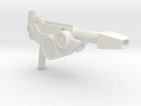 Stinkor Gun for Motu Origins/Vintage in White Natural Versatile Plastic