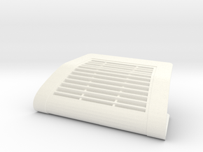 Cadillac 1965 and 1966 climate sensor cover in White Processed Versatile Plastic