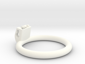 Cherry Keeper Ring G2 - 56mm Flat in White Processed Versatile Plastic