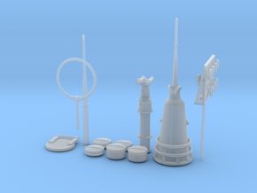 1/35 U-Boot U-441 Conning Tower Detail KIT in Smooth Fine Detail Plastic