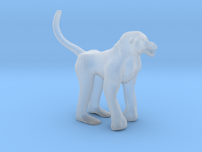 Plastic Baboon v1 1:64-S 25mm in Smooth Fine Detail Plastic