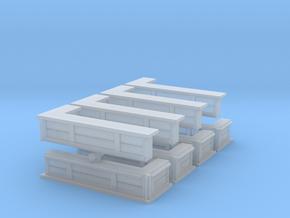 Bar Counter (left corner) (x8) 1/285 in Smooth Fine Detail Plastic
