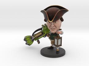 Paul Revere - Ninja Time Pirates in Full Color Sandstone
