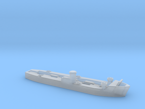 landing ship main l 1/600 dukw  in Smooth Fine Detail Plastic
