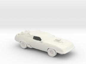 RW. 1973 Ford Falcon GT XB (V2 Interceptor) 1:160  in White Natural Versatile Plastic