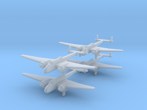 Hampden-350-wheels-x4 in Smooth Fine Detail Plastic