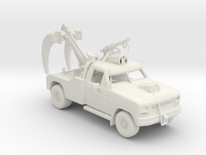 FR. 1980 Ford F-350 Claw car. 1:160 scale. in White Natural Versatile Plastic