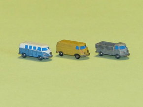 VW Bus Type 1 1/285 6mm in Smooth Fine Detail Plastic