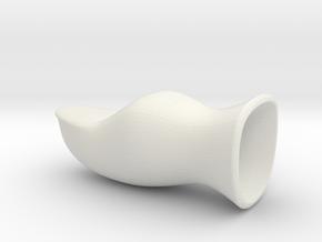 Fake Thumb, Bent in White Natural Versatile Plastic