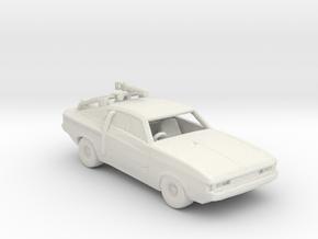 FR. 1971 Chrysler Valiant Charger 770. Prince Vali in White Natural Versatile Plastic