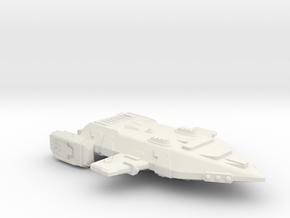 3788 Scale Orion X-Ship Battle Raider (BRX) CVN in White Natural Versatile Plastic