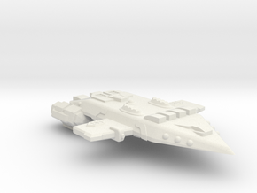 3125 Scale Orion X-Ship Raider Cruiser (CRX) CVN in White Natural Versatile Plastic