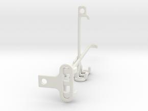 Samsung Galaxy A22 tripod & stabilizer mount in White Natural Versatile Plastic