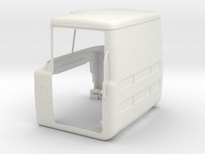 Mack-shell4 Shh No-rear-window in White Natural Versatile Plastic