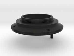 KOWA 1:1.9 f=50mm lens to L39 adapter in Black Natural Versatile Plastic